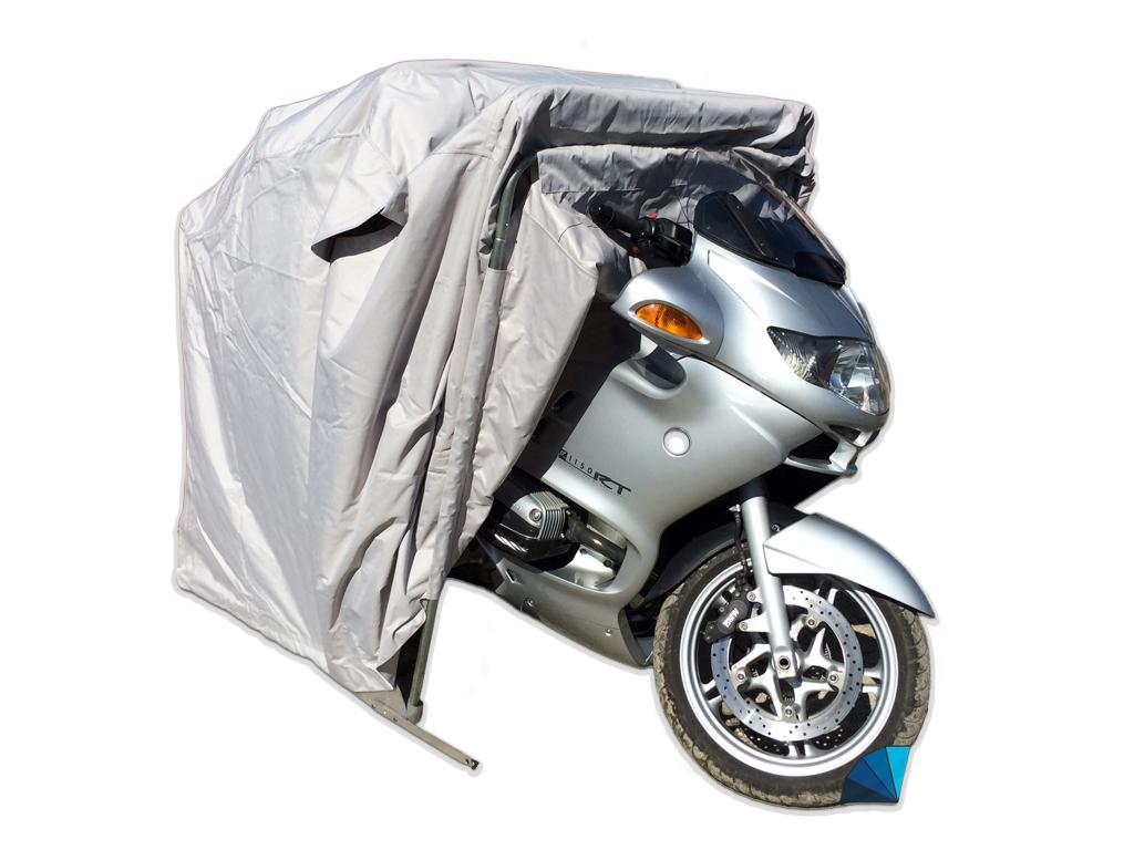 garaj mobil pentru motociclete si motoscutere